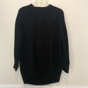 Black Zara knit sweater
